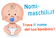 logo Nomi maschili che finiscono in B